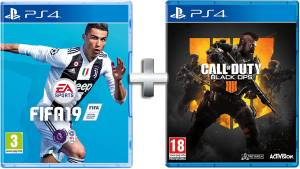 Electronic Arts PS4 Fifa 19 + Call of Duty:Black Ops 4