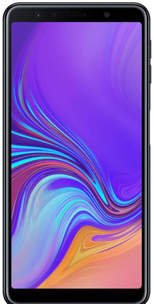 "Samsung Samsung Galaxy A7 2018 SM-A750F 4+64GB 6.0"" Black DS ITA"