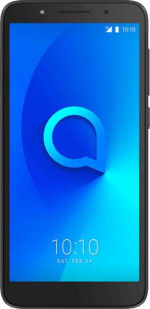 "Alcatel Alcatel 1C 5.34"" 3G Metallic Black DS ITA"