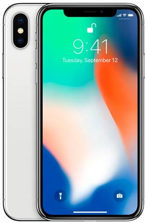 Apple Apple iPhone X 256GB Silver EU