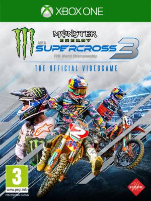 Milestone XBOX ONE Monster Energy Supercross - The Official Videogame 3 EU