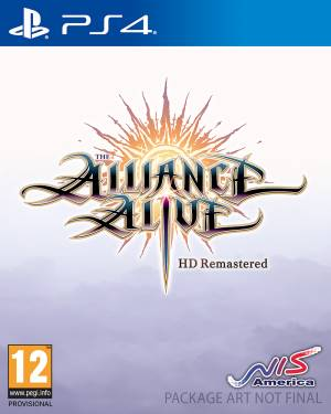 NIS PS4 The Alliance Alive HD Remastered - Awakening Edition