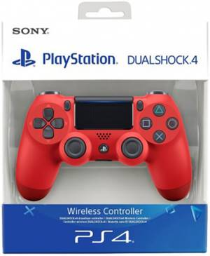 Sony Computer Ent. PS4 Dualshock 4 Magma Red V2