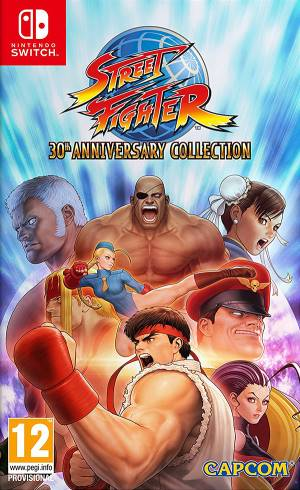 Capcom Switch Street Fighter 30th Anniversary Edition