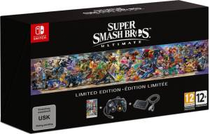 Nintendo Switch Super Smash Bros Ultimate - Limited Edition