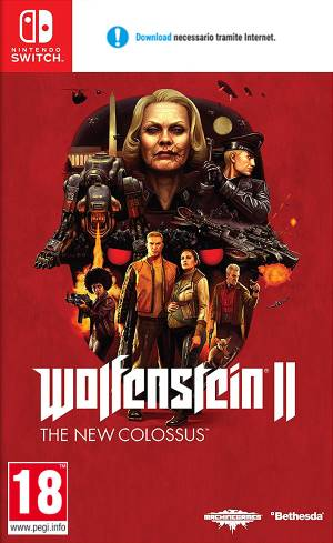 Nintendo Switch Wolfenstein 2: The New Colossus