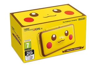 Nintendo New 2DS XL Console Pikachu Edition