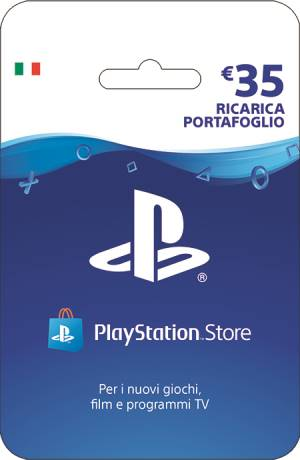Sony Computer Ent. PlayStation Live Card Hang Ricarica 35€