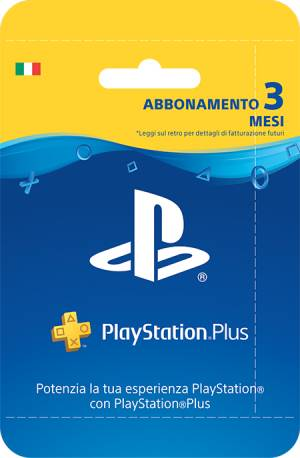 Sony Computer Ent. PlayStation Plus Card Hang Abbonamento 90gg
