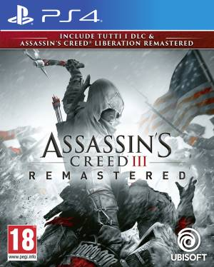 Ubisoft PS4 Assassin's Creed 3 + Assassin's Creed Liberation Remastered