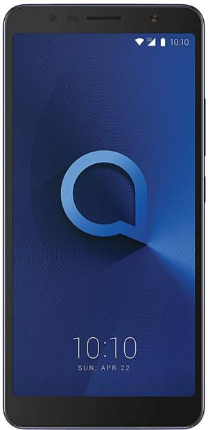 "Alcatel Alcatel 3C 6.0"" 3G Metallic Blue DS ITA"
