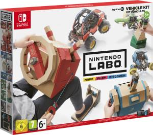 Nintendo Switch LABO Toy-Con: Kit Veicoli