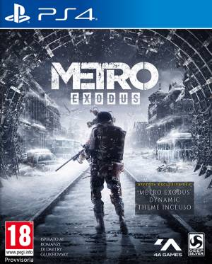 Deep Silver PS4 Metro Exodus DayOne Edition