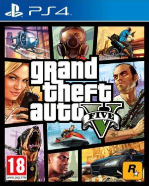 Take 2 PS4 GTA Grand Theft Auto 5 *