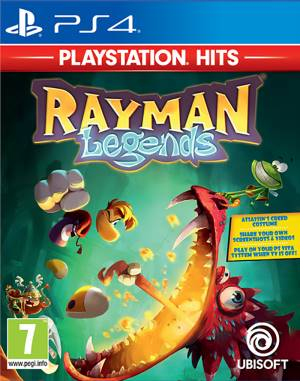 Ubisoft PS4 Rayman Legends - PS Hits