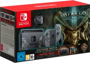 Nintendo Switch Console Diablo 3 Limited Ed. + Diablo 3 Eternal Collection