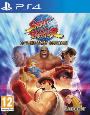 Capcom PS4 Street Fighter 30th Anniversary Edition