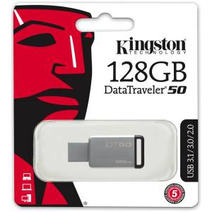 Kingston Kingston Pendrive USB 3.1 128GB DT50 DataTraveler DT50/128GB