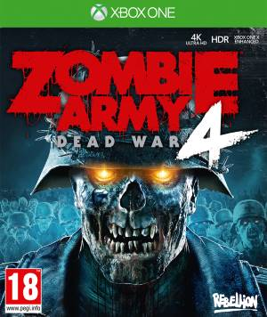 Sold Out XBOX ONE Zombie Army 4: Dead War EU