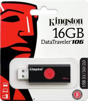 Kingston Kingston Pendrive USB 3.1 16GB DT106/16GB
