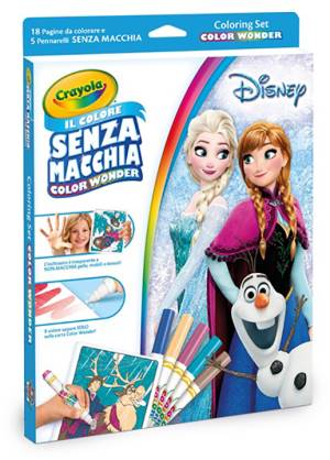 Crayola Crayola Coloring Set - Color Wonder Disney Frozen