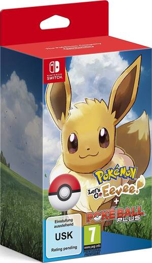 Nintendo Switch Pokemon Let's GO Eevee + Poké Ball Plus