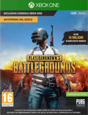 Microsoft XBOX ONE PlayerUnknown's Battlegrounds (Code in a Box)