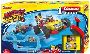 Carrera Carrera Pista FIRST Mickey and the Roadster Racers - 3,5 m
