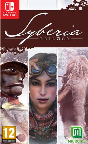 Microids Switch Syberia Trilogy Definitive Edition