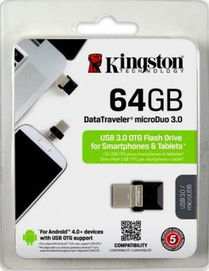 Kingston Kingston Pendrive USB 3.0 64GB DT Micro Duo DTDUO3/64GB