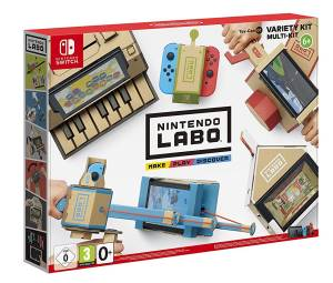 Nintendo Switch LABO Toy-Con: Kit Assortito