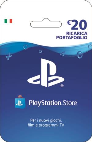 Sony Computer Ent. PlayStation Live Card Hang Ricarica 20€