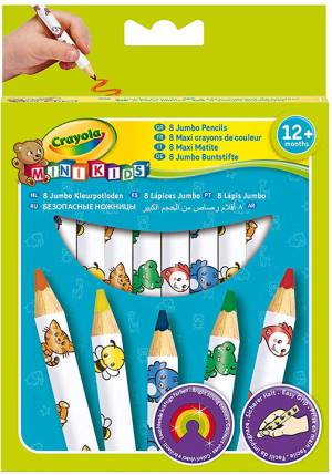 Crayola Crayola Mini Kids Maxi matite colorate 8pz