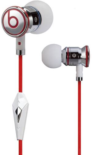 Beats Audio Beats Auricolari iBeats in-ear Chrome (Jack 3.5mm)