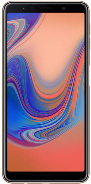 "Samsung Samsung Galaxy A7 2018 SM-A750F 4+64GB 6.0"" Gold DS ITA"