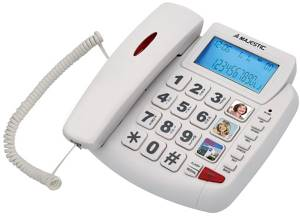 Majestic Telefono MaJestic PHF-Billy 200 Bianco