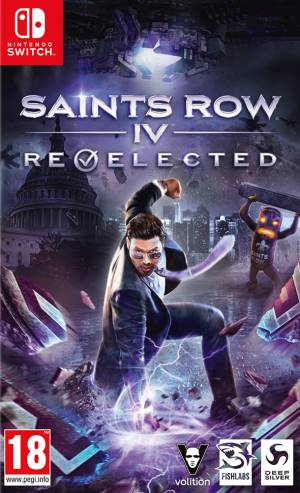 Deep Silver Switch Saints Row IV Re-Elected