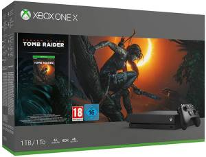 Microsoft XBOX ONE X Console 1TB + Shadow of the Tomb Raider