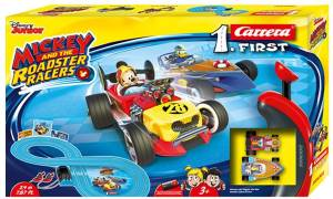 Carrera Carrera Pista FIRST Mickey and the Roadster Racers - 2,4 m