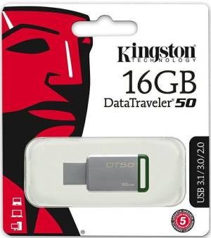 Kingston Kingston Pendrive USB 3.1 16GB DT50 DataTraveler DT50/16GB