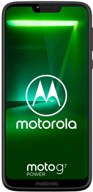 "Motorola Motorola Moto G7 Power XT1955-4 4+64GB 6.2"" Ceramic Black DS ITA"