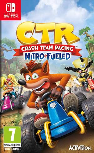 Activision Blizzard Switch Crash Team Racing Nitro-Fueled