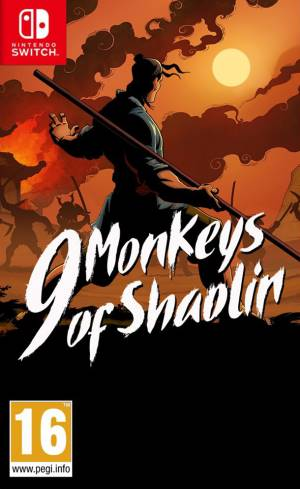 Buka Ent. Switch 9 Monkeys of Shaolin