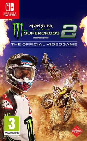 Milestone Switch Monster Energy Supercross - The Official Videogame 2