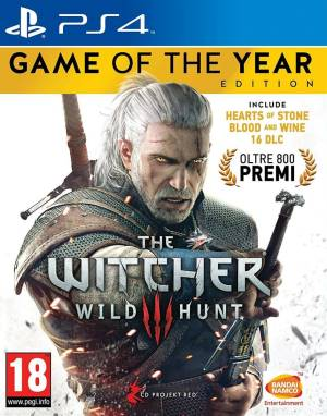 Bandai Namco PS4 The Witcher 3 GOTY