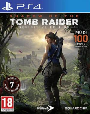 Square-Enix PS4 Shadow of the Tomb Raider - Definitive Edition