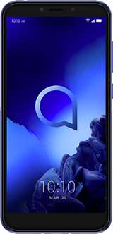 "Alcatel Alcatel 1S 5024D 3+32GB 5.5"" Metallic Blue DS ITA"