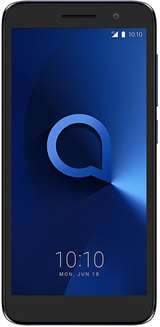 "Alcatel Alcatel 1 5033D 1+8GB 5.0"" Bluish Black (Resin) DS ITA"