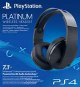 Sony Computer Ent. PS4 Platinum Wireless Headset