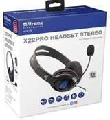 Xtreme Cuffie Gaming Xtreme X22PRO Headphone 2.0 + MIC Jack 3.5mm